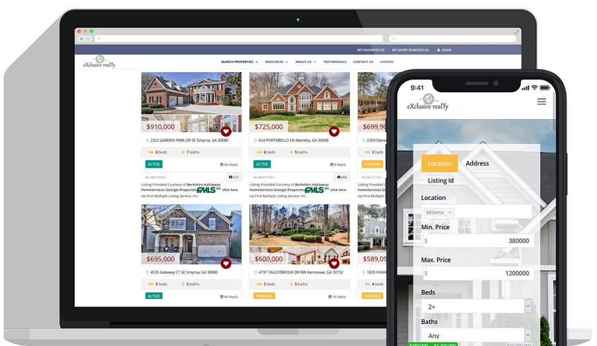 MLS Website Realtor IDX Mobile
